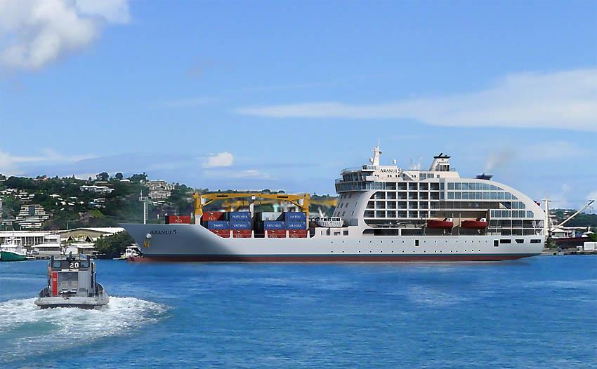 Aranui 5 - photo du bateau de croisière