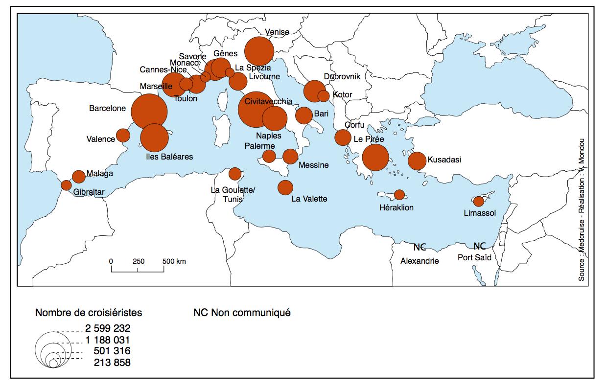 Les 10 meilleurs ports de croisière en méditerranée en 2020