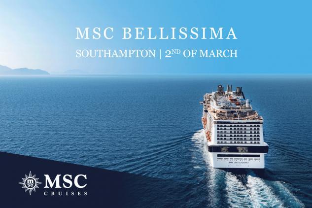 MSC Bellissima à Southampton