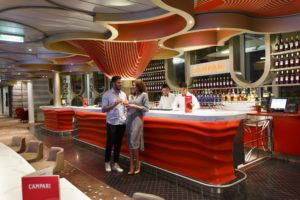 Bar Le Campari du Costa Smeralda