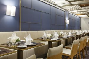 Restaurant Panorama du bateau Costa Smeralda